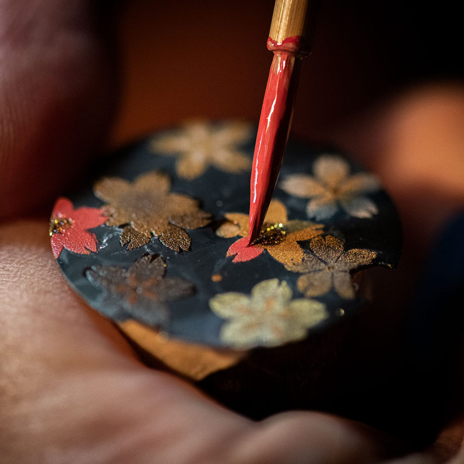 """MINASE """"URUSHI 漆 ~蒔絵~"""" 吉野桜"""